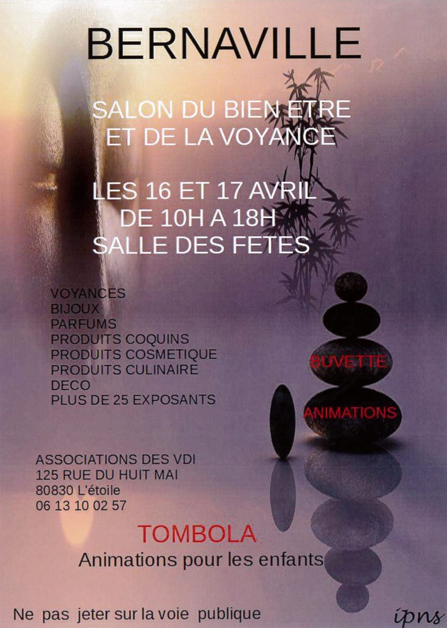 Actualit s commune de bernaville for Salon vdi