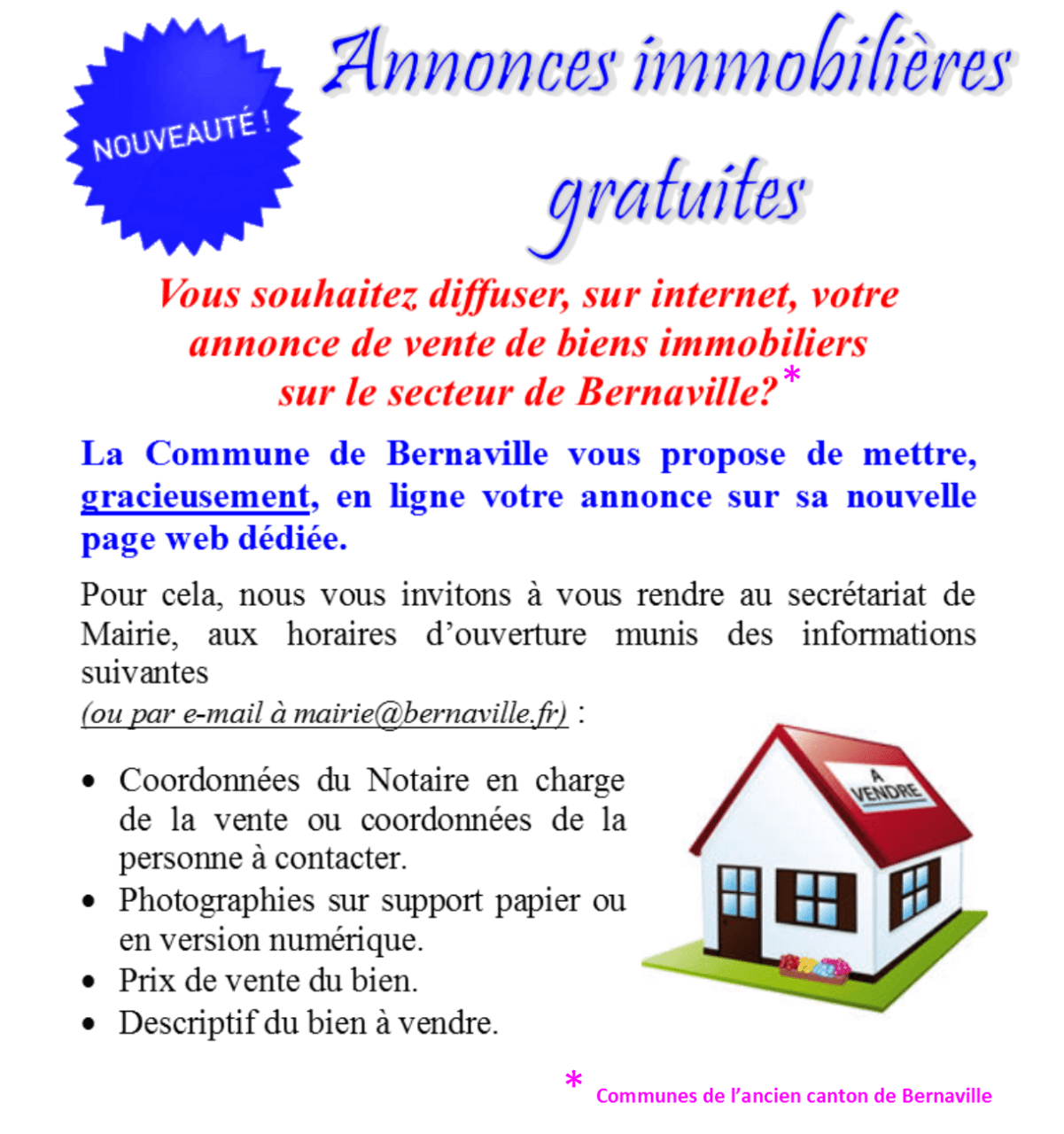 ANNONCES IMMO