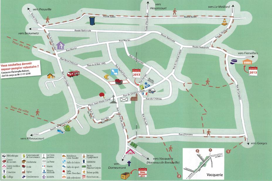plan Bernaville